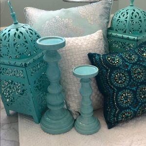 Home decor teal set